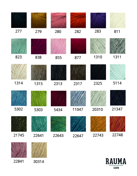 00893a03 Punogenser med løs hals - Embla Garn & Design
